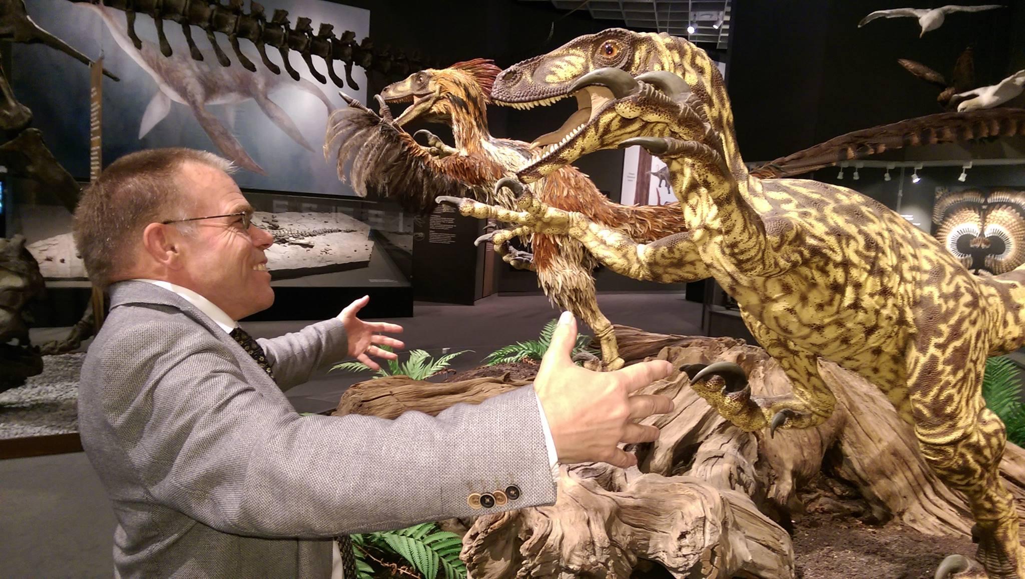 Lezingreeks Dinosaurus: Dr. Eric Mulder header